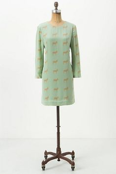Donkey Silk Shift #anthropologie