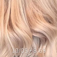 FORMULA: Balayage with Freelights + Magma and tone with + . FORMULA: Balayage with Freelights + Magma and tone with + . Hair Color Guide, Hair Color Formulas, Wella Hair Toner, Blonde Hair Looks, Hair Color Techniques, Strawberry Blonde Hair, Coloured Hair, Rose Gold Hair, Dyed Hair