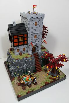 """~ Lego Mocs Holidays ~ Thanksgiving at the Tower 