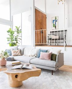 #LifeHack: Whenever you're feeling stressed, just stare at this living room for three seconds. 1… 2… 3… Ahh. Feels better, right? | photo: @tessaneustand; design: @em_henderson