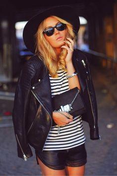 leather shorts w/mesh lining