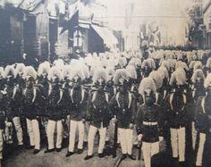 El desfile de los cadetes chilenos
