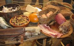 Viking Food, take a look at the culinary delights to be had during a typical Viking day on the farm