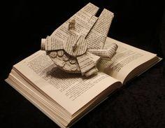 star wars book sculpture - Google Search