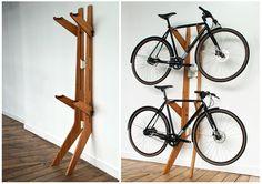 10 Gave manieren om je fiets thuis op te bergen