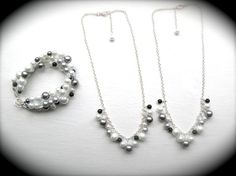 Bridesmaids Sets  Custom Colors by JustMadeJewelry on Etsy, $20.00