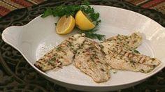 Lemon Basil Baked Catfish Recipe -