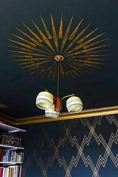 Art Deco Ceiling & Wall