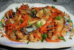 Привет! Сегодня приготовим вкуснейший салат по-корейски хе из рыбы. Раньше мы покупали, а сейчас уже освоили приготовление этих салатов дома. Получается еще вкуснее, когда приготовлю его хочется съес…