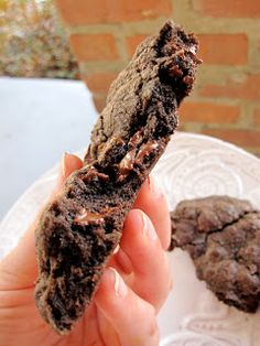 Chocolate Therapy: Giant Chocolate Chocolate Chip Cookies