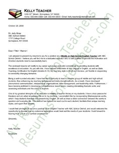 English Application Letter Model How Write Friend Cover Templates For Teacher