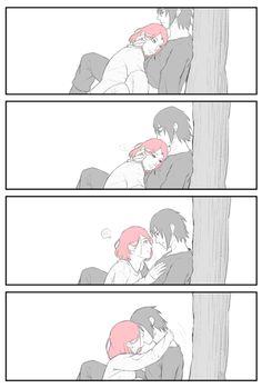 Imagen de naruto, sasusaku, and anime