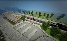 20th Century/Old Train Station Minecraft Project