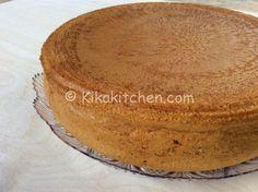 Pan di spagna alto e soffice (senza lievito)