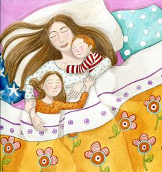 La meua mamà em mima molt / Mi mamá me mima mucho / My mom spoils me a lot Love Mom, Mothers Love, Mom And Baby, Baby Love, Children's Book Illustration, Mother And Child, Cute Wallpapers, Illustrators, Art For Kids