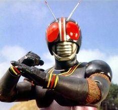 黒き孤独の勇者「仮面ライダーBLACK」世紀王ブラックサンとシャドームーン。 | 超特撮英雄伝 - 楽天ブログ Vr Troopers, Mighty Morphin Power Rangers, Made In Japan, Baymax, Kamen Rider, Deadpool, Samurai, Nostalgia, Japanese