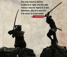 Miyamoto Musashi www.Facebook.com/McDojoLife,       and this poster absolutely defines my husband .