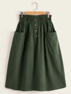 Cute Skirts, Casual Skirts, Women's Skirts, Skirts For Sale, Long Skirts, Modest Fashion, Fashion Dresses, Jeans Fashion, Jw Mode