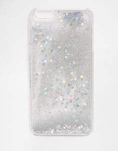 Skinnydip Holographic Liquid Glitter iPhone 6 Plus Case