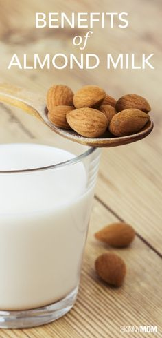 Click here for the benefits of almond milk and why you should be drinking it.