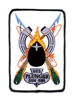 USS Plunger (SSN-595); Thresher/Permit Class; #3 of 14 Thresher/Permit Class boats.