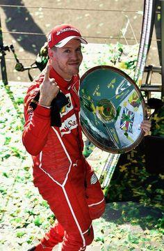 Sebastian Vettel | Ferrari SF70-H | 2017 Australian GP, Melbourne