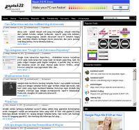 Gaptek32 - adalah blogger tempat pembelajaran atau tempat sharing mengenai tips-trik blog dan tutorial blogspot bagi pemula blogger. dan blog ini dikhususkan untuk anda yang ingin mengenal lebih jauh tentang blogspot