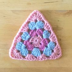 granny triangle pattern