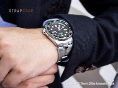 #MiLTAT Retro Razor bracelet on #Seiko #skx007 #strapcode #menwatches #menfashion #seikodiver #seikoskx007 #Seikowatchbracelet