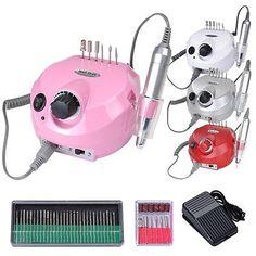 Professional electric acrylic nail drill file buffer bits Manicure Pedicure Kit | Health & Beauty, Nail Care, Manicure & Pedicure, Electric Files & Tools | eBay!