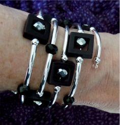 """Spiral """"slinky"""" bracelet."""