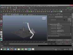 Maya 2014 tutorial : Interactive playback and nCloth ( Cool ! )