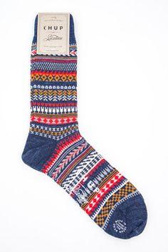 3sixteen - Chup Socks Red Indigo