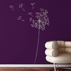 Dandelion - Large vinyl wall decals | Pinterest | Wall decals Dandelions and Violets  sc 1 st  Pinterest & Dandelion - Large vinyl wall decals | Pinterest | Wall decals ...