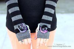 diy arm or leg warmers - Pinterest party (?)