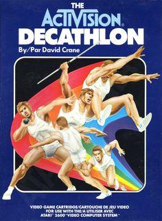 "Les ""Atari 2600 Rainbow Boxes"" d'Activision - Decathlon - 1983"