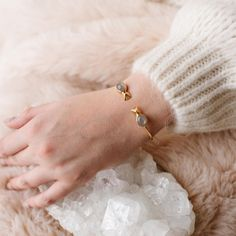 Our GLEE cuff was designed to put a smile on your face. 😀 With simple oval stones and a handy spring at the base, it's super easy to put on… Glee, Super Easy, Stones, Smile, Spring, Bracelets, Jewelry, Rocks, Jewlery