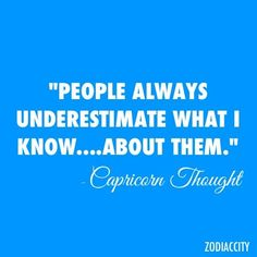 Never underestimate me