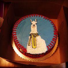 Amazing Llama Cake!