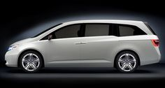 Honda - An Odyssey pulled up next to us at a stop light; lines are truly sleek!