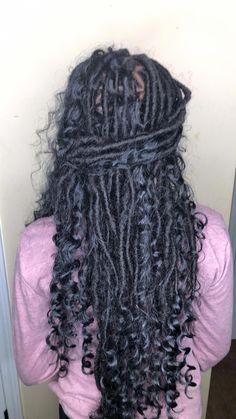 53 Box Braids Hairstyles That Rock - Hairstyles Trends Faux Locs Hairstyles, Braided Hairstyles For Black Women, Frontal Hairstyles, Baddie Hairstyles, Braids For Black Hair, My Hairstyle, Girl Hairstyles, Curly Haircuts, Wedding Hairstyles