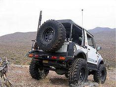 Suzuki Samurai Spare Tire Rack & Rear Bumper