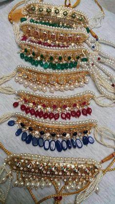 Pakistani Jewelry, Indian Wedding Jewelry, Bridal Jewelry, Silver Jewelry, Silver Ring, Silver Earrings, Antique Jewellery Designs, Jewelry Design, Stylish Jewelry