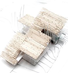 Kengo Kuma designed 'aimai house' for the next-gene 20 project