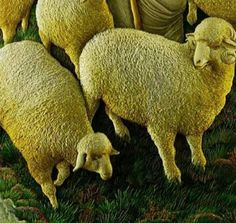 Good Shepherd, 3D embroidery by Sheikh Shams Uddin