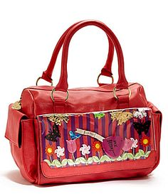 Betsey Johnson Playground Satchel | Dillards.com