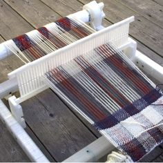 A Rigid Heddle Loom That's right -- a rigid heddle loom. These contraptions were historically -- and in some places, still are -- used as a way of weaving fabric into things like scarves or clothing. But these aren't something you can just pop along to your local DIY store and pick up. With a 3D printer, however, and a couple of screws, and, of course, some yarn, you too can mimic your ancestors who toiled in factories for pittance a day.