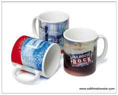Nowadays,customized mugs by sublimation ink and sublimation transfer paper along with the sublimation printing process,are gaining the popularity in gift market. Porcelain Mugs, Ceramic Mugs, Cute Mugs, Funny Mugs, Jailhouse Rock, Customised Mugs, Sublimation Mugs, Corporate Gifts