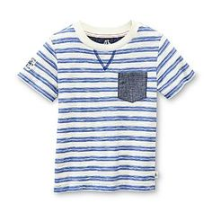 Route 66 Baby Infant & Toddler Boy's Slub-Knit Graphic T-Shirt - Striped