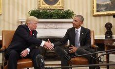Obama Trump White House
